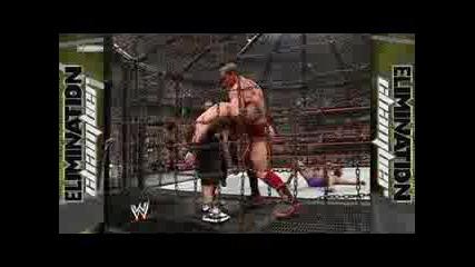wwe Elimination Chamber Match 2006 за титлата на федерацията 2 част