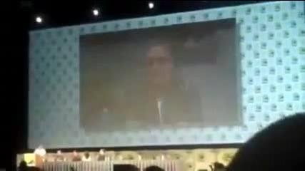 breaking dawn comic con 2011