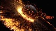 Разрушителни кадри когато планети се сблъскат