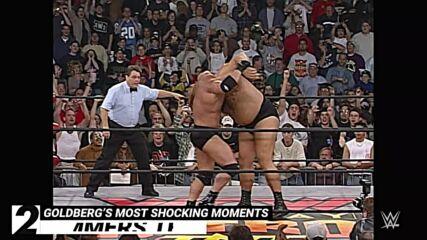 Goldberg's most shocking moments: WWE Top 10, July 22, 2021