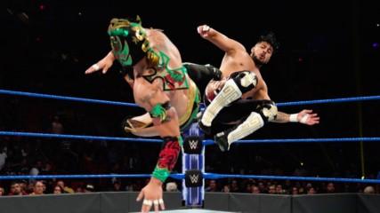 Humberto Carrillo & Raul Mendoza vs. The Lucha House Party: WWE 205 Live, July 23, 2019