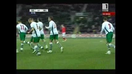 11.02 Швейцария - България 1:1 Ивелин Попов Гол