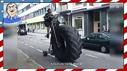 Най-странните колела на планетата
