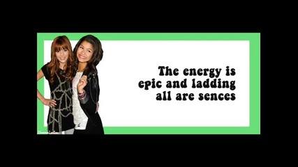 All electric Nevermind ft Anna Margaret Lyrics on screen