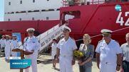 Мария Бакалова стана кръстницата на кораб