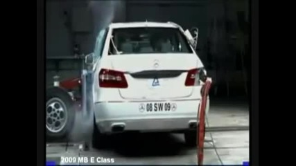 Mercedes Benz E 2010 - crash Test