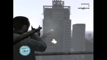 Нико скача от небостъргач (gta Iv)