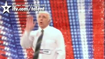 ( Смях ) Този направо ще ви разбие ! Britains Got Talent