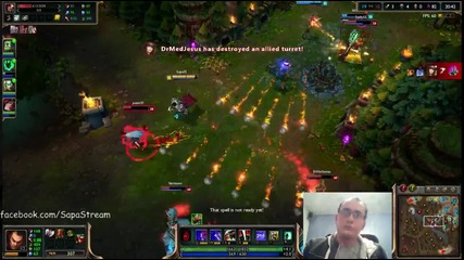 League of Legends игра с Darius Ranked 6 Duo