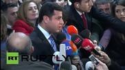 Turkey: HDP co-leader Demirtas casts his election ballot