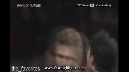 Tottenham 0 : 0 Ac Milan 09.03.2011