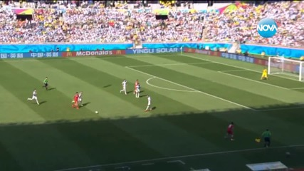 Меси донесе победата на Аржентина срещу Иран с гол в последната минута