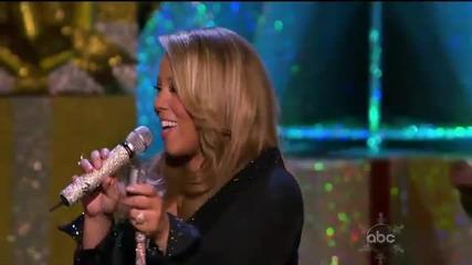 (hd) Mariah Carey - Joy To The World (live Abc Christmas Special)