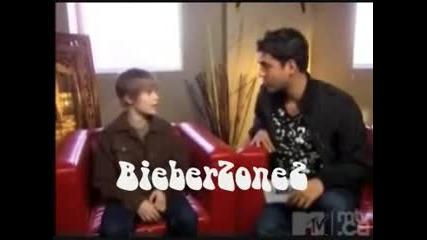 interview of justin bieber [2008]