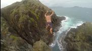Еkстремни скоци от високо във водата