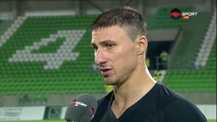 Йоргачевич: Не успяхме да победим, чакаме новите попълнения