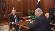 Russia: Putin and trade unions boss Shmakov talk anti-crisis programme