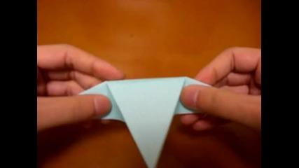 Как се прави Риба от хартия *оригами*