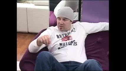 Big Brother 2012 - Как Нед се е учил да кара кола