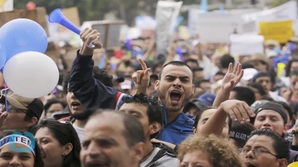 Guatemala's President Vows to Stay in Office Despite Protests