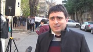Georgia: Protesters in Tbilisi call for re-establishing diplomatic ties with Russia