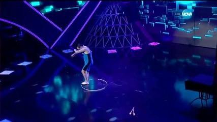 Иван Звездев - Художествена гимнастика с уреди - И аз го мога (22.04.2015)