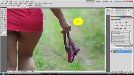 Как да премахнем обект от снимка с Photoshop Cs5 ?