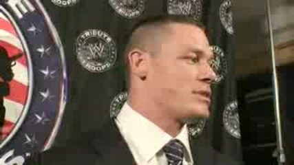 John Cena Interview Tribute To The Troops 2008