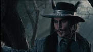 Джони Деп като Вълка на Червената шапчица от мюзикъла Вдън горите 2014 Johnny Depp Into the Woods hd