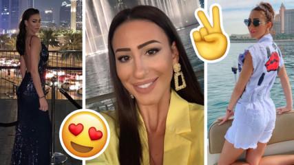 Красивата гимнастичка Цвети Найденова ослепи новогодишен Дубай