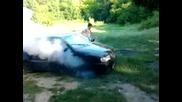 Vw Polo Ss 1.4i 60 hp burnout 2