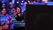 USA: Over 7,000 flood Bernie Sanders rally in Grand Prairie