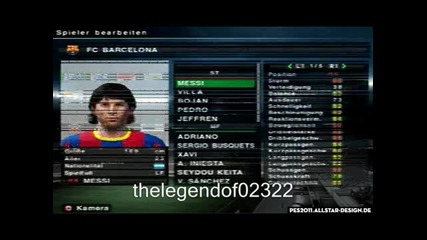Pes 2011 Ps2 Messi Cr7 Faces - Youtube