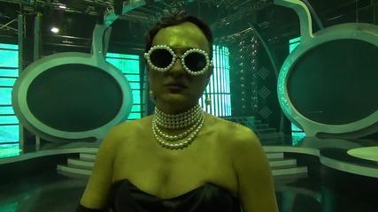 Къци след изпълнението си на Diamonds - Rihanna - Като две капки вода (14.04.2014г.)