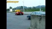 Ferrari Testarossa & Bmw 850 csi