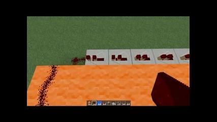 Как да си направим тнт изтрелвач [ Minecraft ]