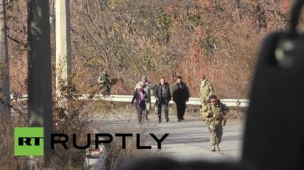 Ukraine: 11 rebel fighters swapped for 9 govt troops in prisoner exchange