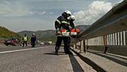 Младеж с 200 кмч загина при катастрофа на автомагистрала Хемус на Витиня