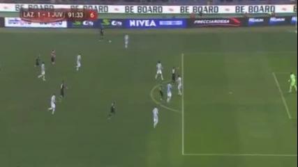 Лацио - Ювентус 2-1 - головете 29--01--2013 Купа Италия