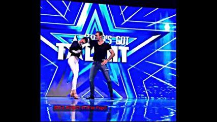 Секси танц затаи дъха на журито и публиката