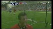 22.08 Уигън - Манчестър Юнайтед 0:5 - Гол на Нани