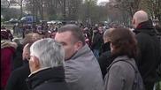 France: Survivors of Paris attacks attend memorial ceremony