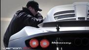 Най-бързата кола в света - Venom Hennessey 265.7 mph (427.6 км/ч) за 2 Мили