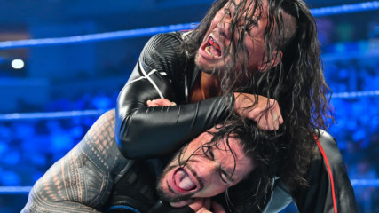 Roman Reigns vs. Shinsuke Nakamura – Intercontinental Title Match: SmackDown, Oct. 18, 2019