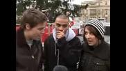 Луди праят Beatbox на коледа