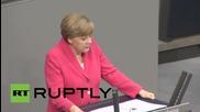 Germany: MPs heckle Merkel as Bundestag Greece debate opens