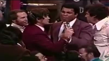Muhammad Ali vs George Foreman. Motivation