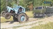Руски Тракторист - Супер Компилация