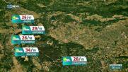 Прогноза за времето на NOVA NEWS (28.07.2021 – 16:00)