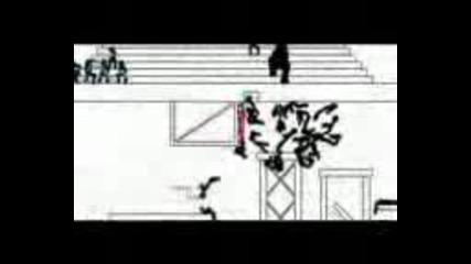 Анимация Бой